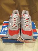 NEW BALANCE US574 Made in USA GRAY×RED  海外限定 カラーオーダー
