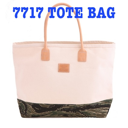 7717 Canvas TOTE BAG