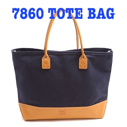 7860 Canvas x Moccasin Leather TOTE BAG