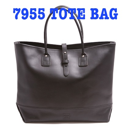 7955ST Mocassin Leather TOTE BAG