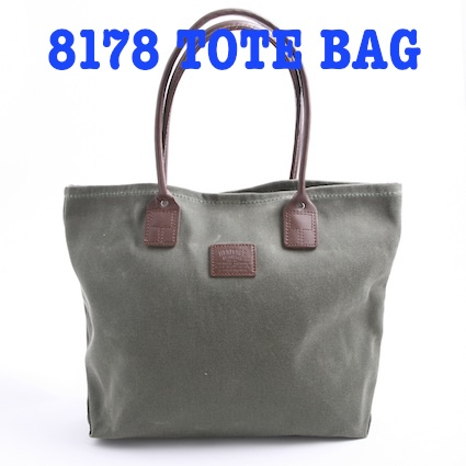 8178 Wax Canvas TOTE BAG
